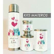 Set - Kit Materos Personalizados En Vinilo