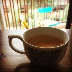 #espresso pra encerrar o almoço. De volta a #sp. #sol #cafe #almoco #tarde #guiadocafe