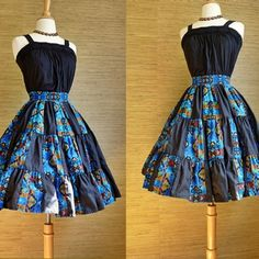 Vintage 1980s southwestern circle skirt - #bitterrootvintage