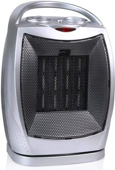 hyhr Mini Portable Electric Heater Desktop Heating Heater Home Office Wall-Mounted Heater Bathroom Radiator Heating Fan White