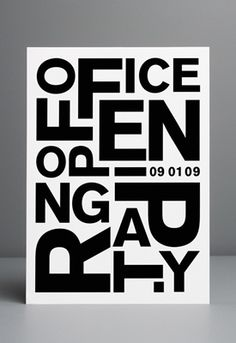 Office Opening Party x Cool invitation idea x Welcome