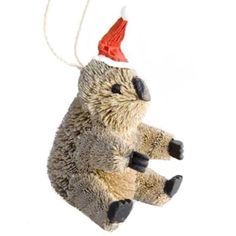 christmas xmas tree hanging ornament australian animal koala in collectables homeware kitchenware decorative ornaments ebay - Animal Christmas Decorations