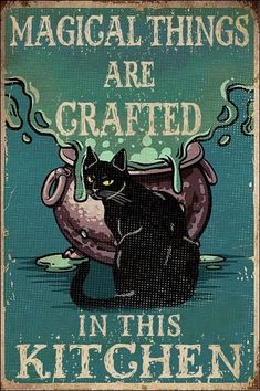Art And Illustration, Illustrations, Vintage Halloween, Halloween Crafts, Halloween Decorations, Crazy Cat Lady, Crazy Cats, Video Chat, Cat Posters