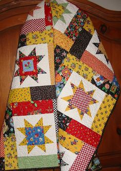 My Lucky Stars quilt...all Mary Engelbreit fabric