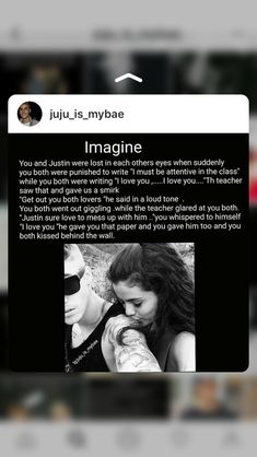 💜😍💜💍👸🏼💕❄️Justin is so sweet! Cute Relationship Goals, Cute Relationships, Justin Beiber Imagines, Boyfriend Imagine, Justin Bieber Believe, Louis Imagines, Justin Bieber Posters, Justin Bieber Wallpaper, I Love You Baby