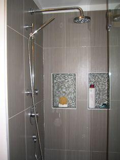 Shower Niche With Schluter Metal Edges 17 221 Schluter