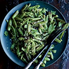Easy spring recipes: Snap Peas with Mint