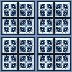 Quilt Patterns Fabric 11 fabric by lworiginals on Spoonflower - custom fabric