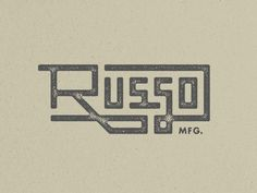 Russo MFG. / chaz russo
