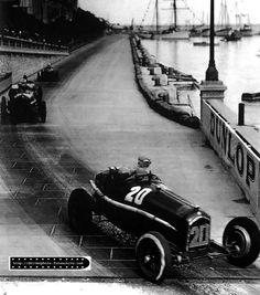GP Monaco 1934 , Scuderia Ferrari , Alfa Romeo P3 #20 Driver Guy Moll , winner first place overall