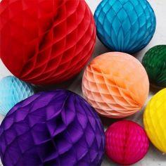 "Tissue Paper Balls 12"" $5.95 Larkstore"
