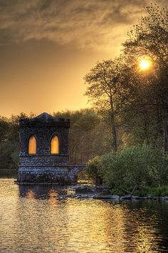 ˚The Temple - Lough Key Forest Park, Ireland