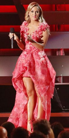 Carrie Underwood's 10 Different 2013 CMA Awards Looks - Christian Siriano from #InStyle