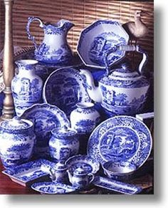 Spode Blue Italian - my wedding china. & Blue Willow. I remember these dishes from my best friends house ...