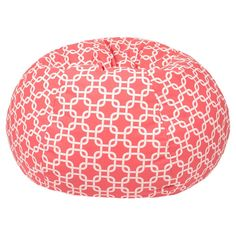 The Gold Medal Gotcha Hatch Pattern Medium Bean Bag perfectly combines the fun of youth with modern design. Soft and cozy with an easy-to-clean cotton. Small Bean Bags, Extra Large Bean Bag, Bean Bag Lounger, Bean Bag Sofa, Bean Chair, Hatch Print, Large Bean Bag Chairs, Large Chair, Hatch Pattern