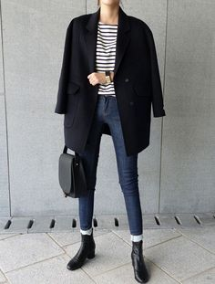20 Elegant Fall Outfits for Work - Outfit Mich - Looks Street Style, Looks Style, Mode Outfits, Fashion Outfits, Fashion Trends, Dress Fashion, Fashion Boots, Fashion Ideas, Fashion Tips