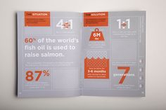 FPO: Verlasso Sustainability Brochure Print Layout, Layout Design, Web Design, Chart Design, Flyer Design, Print Design, Annual Report Layout, Annual Reports, Page Web