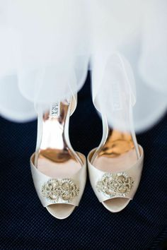 Incredibly Romantic Wedding with French Inspired Elegance. To see more: http://www.modwedding.com/2014/09/26/incredibly-romantic-wedding-french-inspired-elegance/ #wedding #weddings #shoes