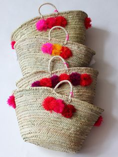 Guest welcome bags for a Fiesta wedding!