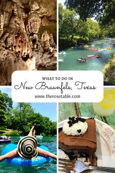 to do in New Braunfels, Texas Planning a trip to New Braunfels? Read this!Planning a trip to New Braunfels? Read this! Texas Roadtrip, Texas Travel, Texas Vacations, Family Vacations, New Braunfels Texas, Places To Travel, Places To Go, Dallas, Road Trip Hacks