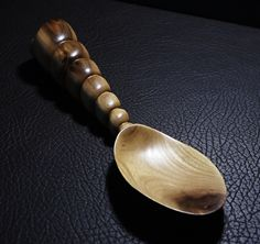 """GILI"" - Original hand carved wooden spoon from Plum wood"