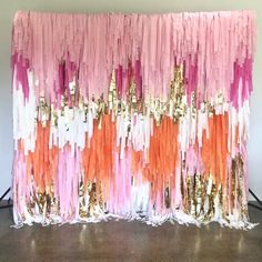 When life gives you Monday, cover it in streamers and shimmy! This colour combo lights us up on a Monday - with the help of caffeine ☕️ 30th Birthday Parties, 3rd Birthday, Balloon Decorations, Birthday Decorations, Trunk Party, Crepe Paper, Table Covers, Diy Table, Streamers
