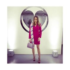 FASHFLASH: @rosiefortescue giving good high street at @charlottesimone_ in her 34.99 @newlookfashion dress- search Pink Double Breasted Tuxedo Dress to find it on newlook.com  now who's ready for Day 2 of LFW? If you're in London don't forget to stop by our babin' hangout at Smashbox's Mortimer Street store (link in bio for all the super-fine deets) #looklive #lookatlfw #lookxsmashbox  via LOOK MAGAZINE OFFICIAL INSTAGRAM - Fashion Campaigns  Haute Couture  Advertising  Editorial Photography…