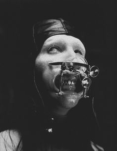 It looks like Manson is going through uncomfortable procedures at the dentists. Black Art, Black And White, Legend Music, Creepy Pictures, Marilyn Manson, Thrash Metal, Dark Matter, The Villain, Macabre