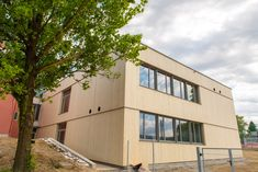 Accoya Fassade - LBS Eibiswald Multi Story Building, Products
