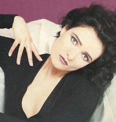 An unlikely photo of Siouxsie Sioux