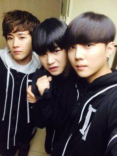B-Joo, Hansol & Xero <3