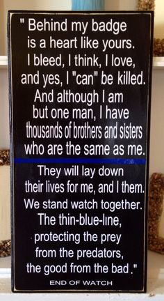 Hey, I found this really awesome Etsy listing at https://www.etsy.com/listing/179186336/thin-blue-line-wall-hanging