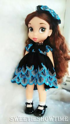 Details about Disney Baby doll clothes lace dress clothing Animator's collection…