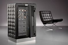 $88,000 Barcelona Chair Inspired Watch Safe by Dottling