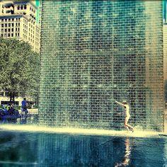Millenium Park Fountain, Chicago