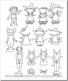 1000 images about printable paper toys on pinterest