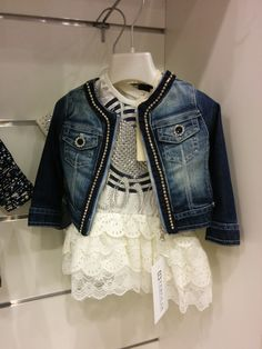 Pretty little girl's outfit