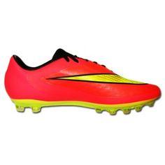sports shoes ee912 ce168 NIKE HYPERVENOM PHATAL AG ROJO-NARANJA.  Nike  Velocidad  futbol   botasfutbol