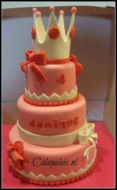 prinsessentaart gemaakt door Zanoni