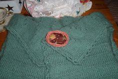 """Textilbrosche """"Grandma`s Garden"""" -  http://de.dawanda.com/shop/ursulavongranegg/1125205-Broschen-und-Anstecker - Facebook page: https://www.facebook.com/Wilhelmine-Wiesenkraut-802474093168101/timeline/?ref=hl"""
