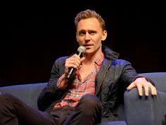 Tom Hiddleston. #WizardWorldPhilly Via Torrilla.