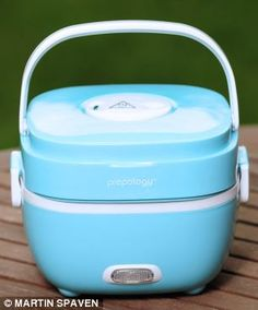 The plug-in lunchbox that cooks your food at your desk   Daily ...