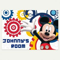 Mickey Mouse Clubhouse Capers XL Wallpaper Mural 10.5u0027 X 6u0027 | Pinterest | Mickey  Mouse Clubhouse, Clubhouses And Wall Murals