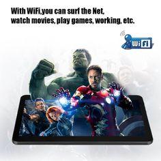 TABLET 10.1  HD MT6572 Android 4.4.2 Phablet Dual Core Rom 8GB Dual SIM Webcam 3