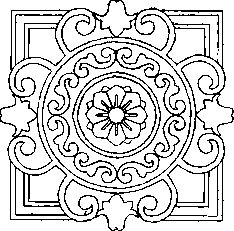 Centre Panel Section 1 drawing