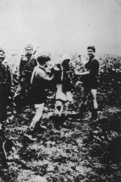 WWII. - 1941-45. - Croatia/NDH - Croat's natzi (ustase), concentration camp Slano, Pag