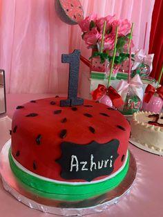 Watermelon Birthday, Cake, Desserts, Food, Tailgate Desserts, Deserts, Kuchen, Essen, Postres