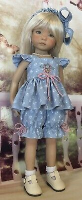 Picture 10 of 10 Ag Doll Clothes, Doll Clothes Patterns, Clothing Patterns, Sweater Hat, Mohair Sweater, Spring Wear, Spring Outfits, Dress Hats, Ag Dolls