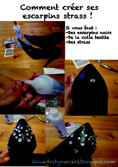 i love do it yourself - Escarpins strass