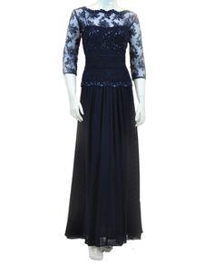 Emma Street ES515 Full Skirt Lace Top $218